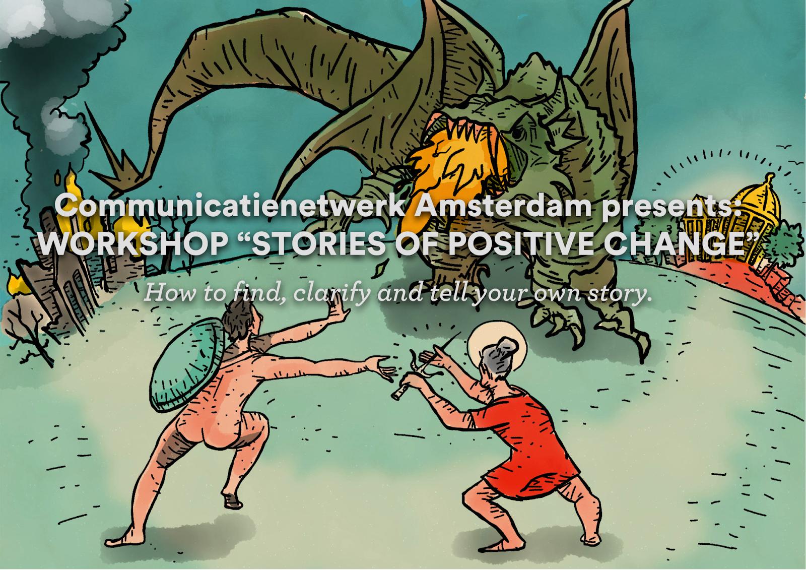 Storytelling workshop: STORIES OF POSITIVE CHANGE